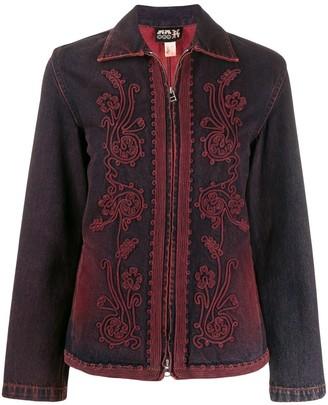Jean Paul Gaultier Pre-Owned Collared denim jacket