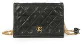 WGACA Vintage Chanel Black Multi Chain Bag