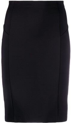 Patrizia Pepe High-Waist Pencil Skirt