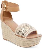 Tommy Hilfiger Women's Terin Platform Wedge Espadrille Sandals Women's Shoes