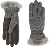 UGG Slim Fit Quilted Fabric Smart Glove