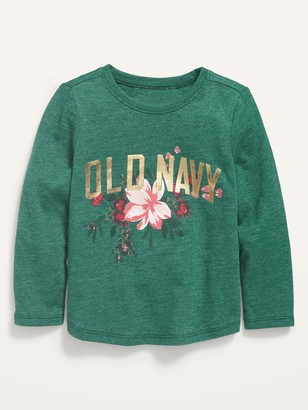Old Navy Logo-Graphic Scoop-Neck Tee for Toddler Girls