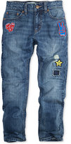 Levi's 511 Limited Slim-Fit Patched Jeans, Big Boys (8-20) Created for Macy's