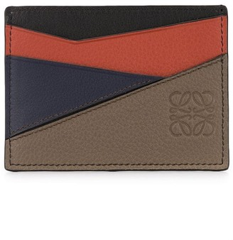 Loewe Layered Leather Cardholder