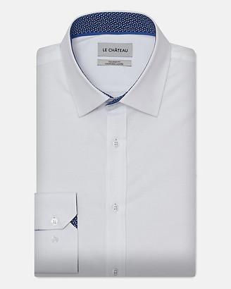 Le Château Stretch Cotton Poplin Tailored Fit Shirt