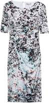 Great Plains Miquita Marble Ruched Dress
