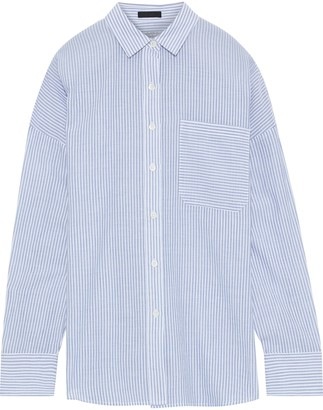 ATM Anthony Thomas Melillo Striped Cotton Shirt