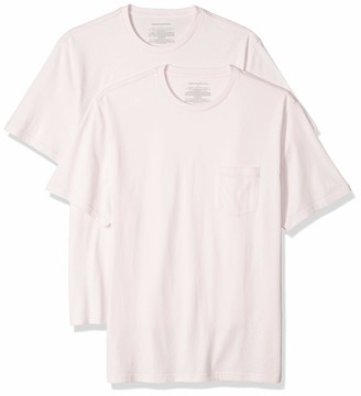 Amazon Essentials Men's 2-Pack Regular-Fit Crew Pocket T-Shirt