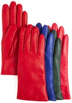 Bloomingdale's 2-Button-Length Cashmere Lined Leather Gloves - 100% Exclusive