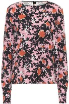 Marni Floral sable blouse