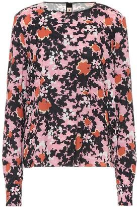 Marni Floral sablA blouse