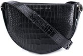 Victoria Beckham crocodile skin effect crossbody bag