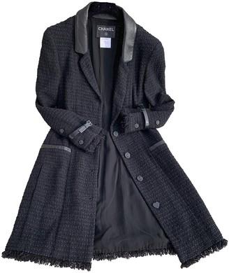 Chanel Black Coat for Women Vintage
