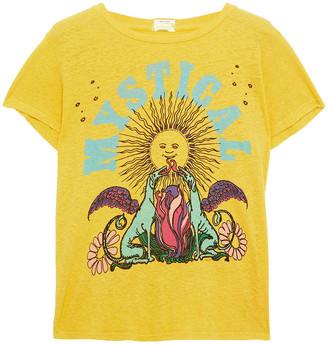 Mother Printed Hemp And Organic Cotton-blend Jersey T-shirt