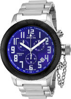Invicta Russian Diver Mens Blue Dial Stainless Steel Chronograph Sport Watch 15560