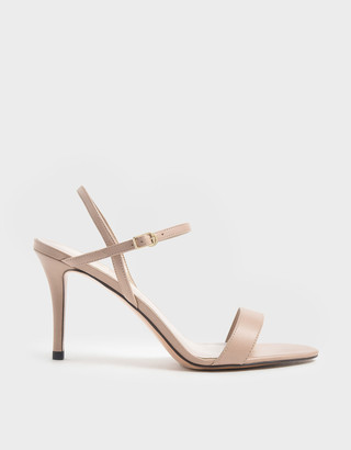 Charles & Keith Classic Stiletto Heel Sandals