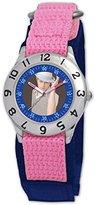 Disney Kids' D052S503 High School Musical Ryan Pink Velcro Watch