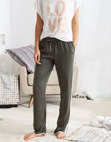 aerie Satin Track Pant