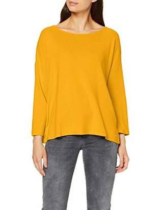 Tom Tailor Women's Schleifendetail Longsleeve T-Shirt, (Dusky Flower Pink 11056), S