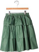 Bonpoint Girls' Patterned Layered Skirt