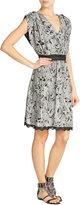 Anna Sui Tropical Print Silk Dress