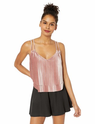 Jack by BB Dakota Junior's Touch of Velvet Pleated Double Layer top