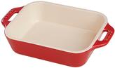 Staub Cherry Rectangular 10.5'' Baking Dish