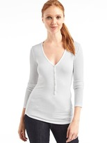 Gap Cozy modal ribbed henley