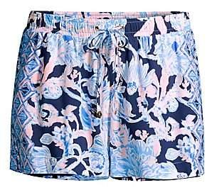 Lilly Pulitzer Women's Katia Drawstring Print Shorts