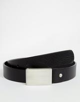 Selected Leather Belt - Black