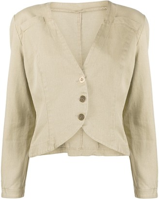 Fendi Pre-Owned 1980s Structured Jacket