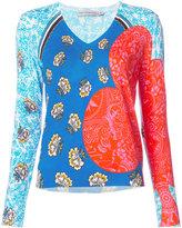 Mary Katrantzou King print top - women - Cotton - S