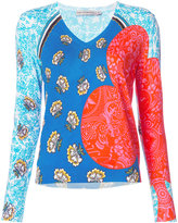 Mary Katrantzou King print top