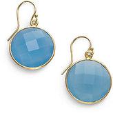 Nunu Blue Chalcedony Drop Earrings