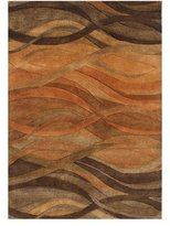 Waterford Autumn Stripe Rug, 8' x 10'
