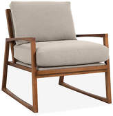 One Kings Lane Markus Accent Chair - Greige Crypton