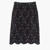 J.Crew Collection pencil skirt in Austrian lace
