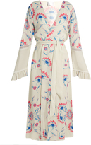 ATHENA PROCOPIOU Flower Child ruffled-cuff cover-up