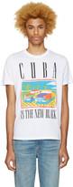 Diesel White T-Joe-Mf Cuba T-Shirt