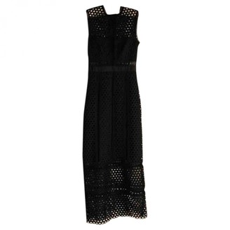 Self-Portrait Black Polyester Dresses
