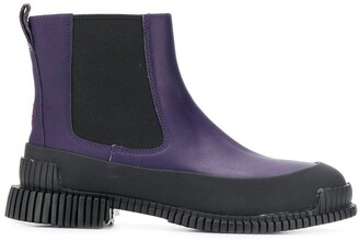 Camper Leather Detail Boots