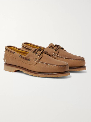 Quoddy Downeast Full-Grain Leather Boat Shoes