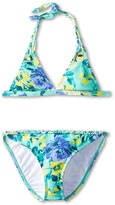 O'Neill Kids In Bloom Braided Tri Bikini (Big Kids)