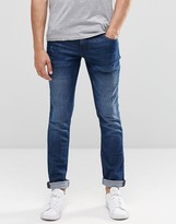 Blend of America Cirrus Skinny Jeans Mid Blue