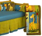 Cotton Tale Designs Paradise 4-Piece Crib Bedding Set, 1-Pack