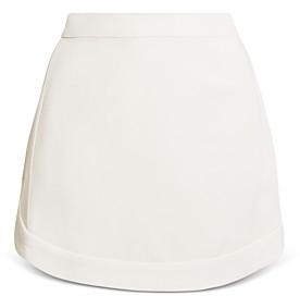 BCBGMAXAZRIA Woven Mini Skirt