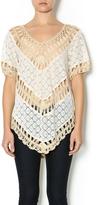 Umgee USA Boho Crochet Tunic