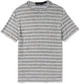 Alexander Wang Slim-Fit Striped Slub Linen-Jersey T-Shirt