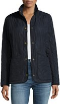 Barbour Combe Polar-Quilt Utility Jacket, Navy