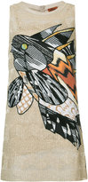 Missoni embroidered fish dress